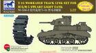 Bronco 1/35 AB3553 T-16 Workable Track Link Set for M-3/M-5 Stuart Light Tank