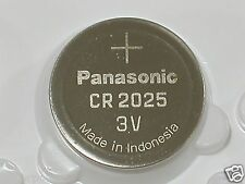 10 PC Panasonic CR2025 CR 2025 3v Lithium Coin Cell Battery Button Batteries
