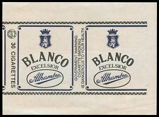 Philippines BLANCO EXCELSIOR ALHAMBRA Cigarette Label