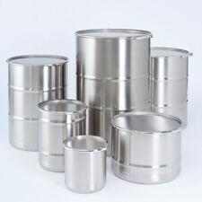 Müller 0,1L Barrel Barrels Drums Stainless Steel Flat Bottom Stackable 0102593