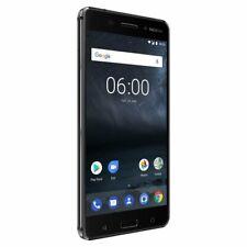 "Neu in Versieg.Box Nokia 6 2017 5.5"" ANDROID GLOBAL DUAL Smartphone Black/32GB"