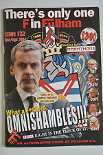 Football Fanzine. There's only one F in Fulham. Issue 132. March/April 2014.