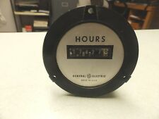 Used General Electric (Ge) 240731Aaae Time Meter 3.0W 120V 60Hz Free Ship