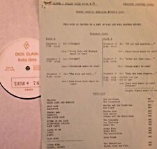 RADIO SHOW:DICK CLARK GOLD 78 WEATHER! TORNADOES, ANNE MURRAY,CASCADES,GUESS WHO