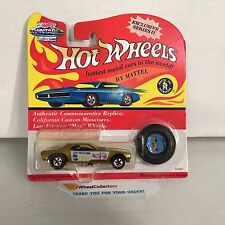#11 DON SNAKE PRUDHOMME * GOLD Barracuda * Hot Wheels Vintage Collection * NF7