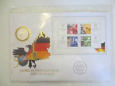 Numisbrief DDR, 20 Mark, 1990, Brandenburger Tor, rar