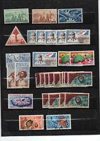 Côte française des Somalis poste aérienne 31 timbres avec multiples