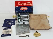 Vintage Shakespeare Marhoff 1964 Fishing Reel Model Ge Complete Box And Papers