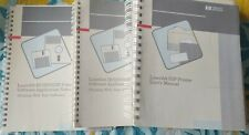 HP LaserJet IIIP Printer Manuals User, Software(2),Getting Started(2), Cassette