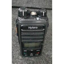 Hytera Pd562i Digital Portable Uhf Radio 400-470Mhz 512 Channel Black