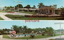 THE FRENCH COURT Ocala FL near Silver Springs, old cars, pool, motel