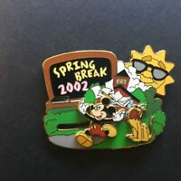 WDW - Spring Break 2002 Slider Mickey Mouse & Pluto - Disney Pin 10850