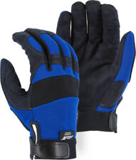 Majestic Glove Mechanics Style  Synthetic Leather 2137BL X-Large
