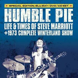 Steve Marriott - Humble Pie: Life And Times Of Steve Marrio (NEW BLU-RAY+DVD+CD)