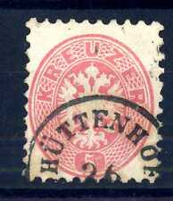 AUSTRIA - 1863 - Stemma: Doppia Aquila. ABA405