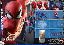 "Hot Toys VGM31 Marvel Spider-Man (Advanced Suit) 1/6 Scale 12"" Figure In Stock"