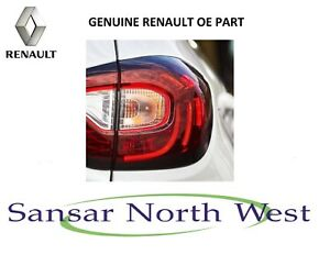Renault Captur - Drivers Outer Rear Lamp Tail Light O/S RIGHT - 2017 Onwards