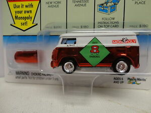 Johnny Lightning '60 VW VAN Chrome Red 1960 KB EXCLUSIVE Free Parking MONOPOLY