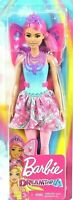 """Barbie Dreamtopia Fairy Doll 11.5"""" inch Pink Hair with Wings and Tiara for OOAK!"""