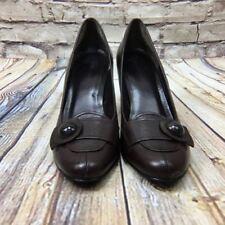 Shoes Womens High Heel Pumps 8 M Brown Career Worthington