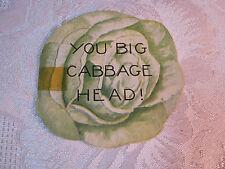 You Big Cabbage Head Valentine Vintage T*