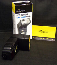 Promaster FTD 7000M Electronic Flash Motorized Zoom for CANON #4237 MINT in BOX