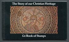 Gb 1984 - Prestige Booklet - Sg Dx5 - Sc Bk148 - Story of our Christian Heritage