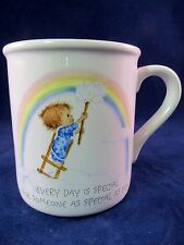 Vintage Hallmark Betsy Clark Coffee Cup Mug Special Friend Rainbow Japan