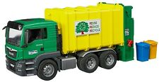 Bruder MAN TGS Rear-Loading Garbage Kids Play Toy Truck 03764 NEW