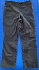 Phase Eight Black Short Stretchy Cigarette Pants Skinny Trousers 12 Medium M