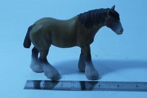 2004 PAPO FARM ANIMAL WORK HORSE 5'' PVC FIGURE