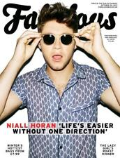 UK Fabulous Magazine October 2017 Niall Horan One Direction Flicker Interview
