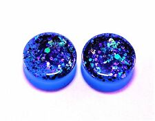 Size 20 mm Handmade Ear tunnel Plugs, Free USA shipping!(P-39)