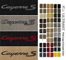 Lloyd Mats Porsche Cayenne S Front Cayenne S Logo Floor Mats (2003 & Up)
