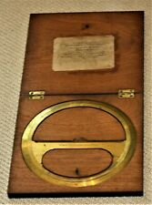 "DRAUGHTSMAN CIRCULAR PROTRATOR DRAWING INSTRUMENT, BOX 10"" SQ. by JOHN CAIL"