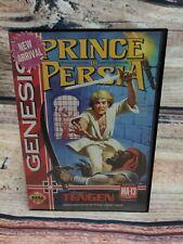 Prince of Persia (Sega Genesis, 1993) Tengen Case and Cartridge No Manual