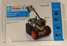 RadioShack Make: it Robotics Add-On Project Kit 2 (#2770170) Brand NEW