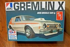 AMT MODELS AMC GREMLIN X MINI-MUSCLE CAR 1/25 SCALE MODEL KIT