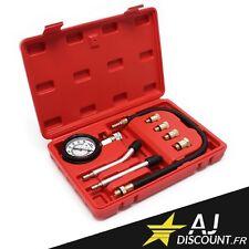 Coffret Compressiomètre 8 pièces pour moteur Essence - Testeur de compression