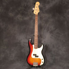 Fender 2007 American Precision Bass Sunburst USA Electric P Bass Guitar