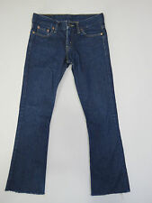 A-145 LADIES VINTAGE LEVIS 575 MADE IN ARGENTINA CROPPED DENIM JEANS SZE W-25