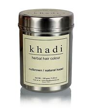 Khadi Herbal Nut Brown Henna Natural Hazel Hair Color Unique Formulation 150gm