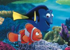 WALT DISNEY ART PRINT - Searching for Nemo - by Walt Disney 11x14 Fish Poster