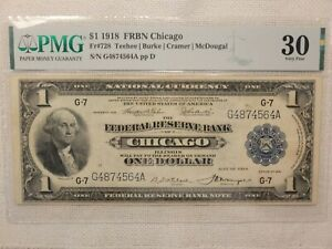 1918 $1.00 FRBN. CHICAGO