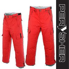 PERYSHER PERFORMANCE Rosso Corsa Red Men Ski Pants / Snowboard Pants