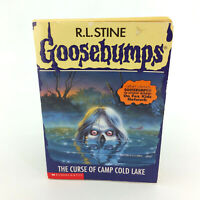 Goosebumps Book 56 The Curse Of Camp Cold Lake Vintage 1997 1st First Edition