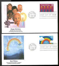 2395-2398 SPECIAL OCCASSIONS FDC KING OF PRUSSIA, PA SET of 4 FLEETWOOD COVERS