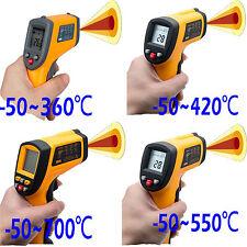 Termómetro Infrarrojo Láser Digital Medidor Pistola de Temperatura Sin Contacto