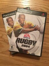 EA SPORTS RUGBY 2004 - PS2 - COMPLETE W/MANUAL - FREE S/H (L)