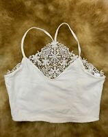 Terranova cotton white Camisole Top sleepwear nightwear size  S